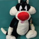 "Six Flags Magic Mountain Looney Tunes Sylvester Cat 24"" Plush New"