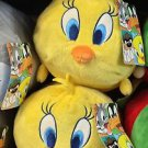Six Flags Magic Mountain Looney Tunes Tweety Bird Large Tube Plush New with Tags