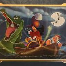 Disney Parks Captain Hook Hook, Time and Tinker Deluxe Print Daniel Killen New