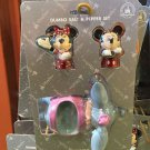Disney Parks Mickey Minnie & Dumbo Salt And Pepper Shakers New With Box