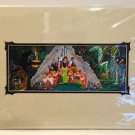 Disneyland Diamond Celebration Snow White Mural Print DARK RIDE by Kurt Raymond