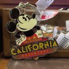 Disney Parks Disney California Adventure Mickey Mouse Metal Keyring Keychain New
