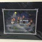Disney WonderGround Haunted Mansion Portrait Procession Print by John Coulter