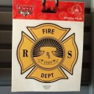 DISNEY PARKS DISNEY PIXAR CARS STICKER DECAL FIRE DEPARTMENT NEW