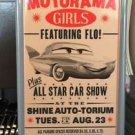 DISNEY PARK DISNEY PIXAR CARS MOTORAMA GIRLS METAL MAGNET NEW