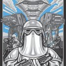 Disney WonderGround Gallery Star Wars Empire Strike Deluxe Print Max Grundy New