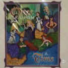 Disney Parks Once A Upon Time Heroes Print SIGNED by Dave Avanzino New