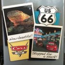 DISNEY PARK DISNEY PIXAR CARS CARS LAND ROUTE 66 COLLAGE MAGNET NEW