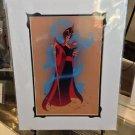 New Disney WonderGround Gallery JAFAR ON SAND J. Scott Campbell PRINT RARE