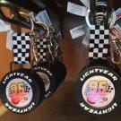Disney Parks Disney Pixar Cars Lightning McQueen Lightyear Tire Keychain New