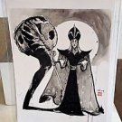 NEW Disney WonderGround Gallery Jafar in Desert Snake Postcard Richard Peter Han