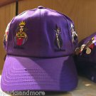 DISNEY PARKS LADY VILLAINS LAVENDAR COLOR ADULT HAT CAP NEW WITH TAGS