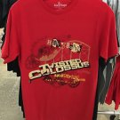 Six Flags Magic Mountain Twisted Colossus Mens Red T-Shirt SIZE: S,M,L XL,XXL