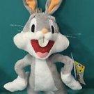 "Six Flags Magic Mountain Looney Tunes Bugs Bunny 17"" Plush New"