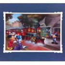 Disney Parks Mickey And Friends Railroad Train Deluxe Print Maggie Parr NEW