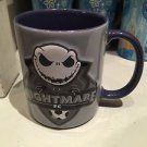 Disney Parks Jack Skellington Nightmare FNC Soccer Ceramic Cup Mug New