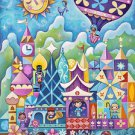 Disney WonderGround Gallery It's A Small World Print by Jeremiah Ketner NEW