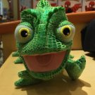 "DISNEY PARKS TANGLED 9"" PASCAL CHAMELEON LIZARD PLUSH NEW WITH TAGS"