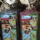 Six Flags Magic Mountain Looney Tunes Taz Pussyfoot & Bugs Acrylic Keychain New
