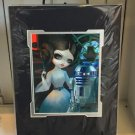 Disney WonderGround Gallery Princess Leia R2-D2 Print by Jasmine Becket-Griffith