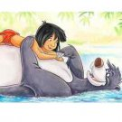 Disney Parks Best of Friend Jungle Book Deluxe Print by Randy Noble New