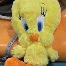 "Six Flags Magic Mountain Looney Tunes Fluffy Tweety Bird 8"" Plush New"