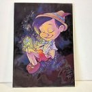 Disney WonderGround Gallery PINOCCHIO'S DREAM Postcard SIGNED Martin Hsu RARE