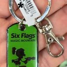 Six Flags Magic Mountain Looney Tunes Marvin The Martian Metal Keychain New