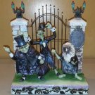 Disney Parks Jim Shore Showcase The Haunted Mansion Hitchhiking Ghosts Figurine