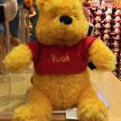 "Disney Parks Exclusive Winnie The Pooh 9"" Bean Bag Toy Plush New"