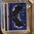 Six Flags Magic Mountain DC Batman Flying Clear Acrylic Keychain New