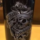 DISNEY PARKS PIRATES OF THE CARIBBEAN CERAMIC SHOT GLASS DEAD MEN TELL NO TALES