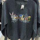 Six Flags Magic Mountain Looney Tunes Character Sweat Shirt Size: S,M,L,XL,XXL