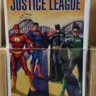 Six Flags Magic Mountain DC Comics Justice League Postcard New