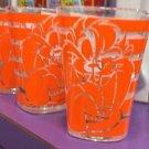 Six Flags Magic Mountain Looney Tunes Tasmanian Devil Striped Shot Glass New