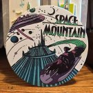 Disney Parks Classic Poster Ceramic Coaster Space Mountain Attraction New