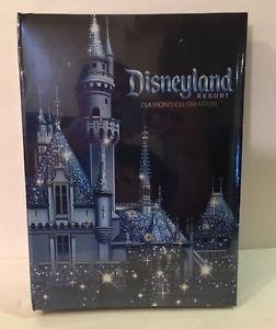 Disneyland 60th Diamond Celebration Large Photo Picture Album New and Sealed