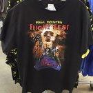 Six Flags Magic Mountain Fright Fest Men's Black Shirt XS,M,L XL,XXL New