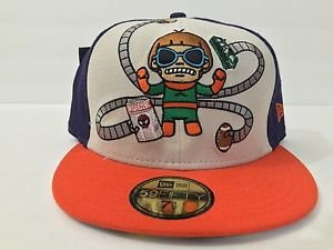 TOKIDOKI x Authentic New Era Fitted Hat Marvel's Doc Octopus Size 7 1/2 - 59.6cm