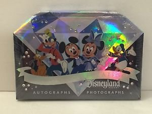 Disneyland Diamond Celebration 60th Anniversary Autograph-Photograph Book NEW