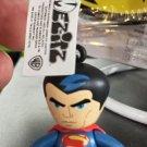 Six Flags Magic Mountain DC Comics Superman Vinyl Figure Keychain New