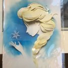 Disney WonderGround Gallery FROZEN Queen Elsa Postcard by Jackie Huang NEW