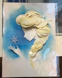 Disney WonderGround Gallery FROZEN Queen Elsa Postcard by Jackie Huang NEW