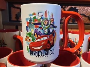 Disneyland 60th Diamond Celebration 2005 Decades Ceramic D Mug Jeff Granito New