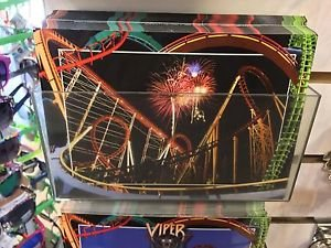 Six Flags Magic Mountain Coasters Attraction Postcard New