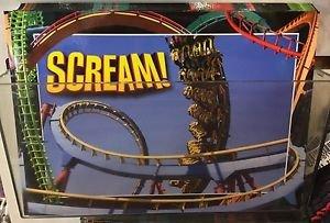Six Flags Magic Mountain Scream! Attraction Postcard New