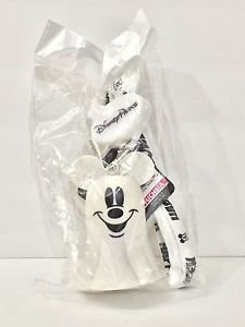 DISNEY PARKS MICKEY HALLOWEEN TIME MULTI COLOR LIGHT UP GHOST MICKEY LANYARD NEW