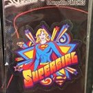 Six Flags Magic Mountain DC Comics Changeable Patches Supergirl New