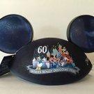 Disneyland 60th Diamond Celebration Wishes Do Really Come True Ear Hat RARE HTF