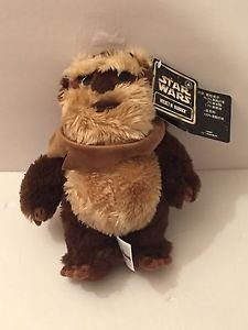 "New Disney Parks Star Wars 2015 Wicket W. Warrick the Ewok 9"" Plush"